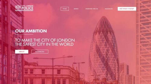 City of London Police Homepage